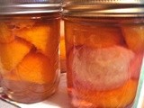 Peaches and Pickles! It's Canning Day