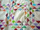Quilt Number Three Starts Today, a Weekend Guest and a Cherry Pie in the Oven
