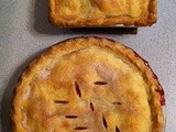 Red Raspberry & Blackberry Pies
