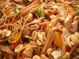 Sesame Chicken Noodle Salad a Recipe from My Sister Linda