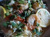 Shrimp Scampi with Angel Hair Pasta