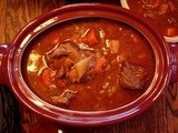 Slow Simmered Beef Stew in Slow Cooker or on the Range