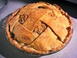 Strussel Topped Double Crust Apple Pie