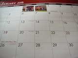 The Family Calendar, a Lovely Gift and a Good Habit