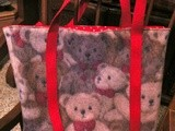 The  Little Baby Bear Bag   is just too cute for words!  And here is how to make, a tutorial