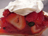Triple Berry Pie with Sweet Cream