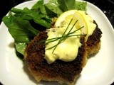 Crab and Shrimp Cakes with Garlic Aioli