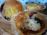 Blue-Belt Blueberry Lemon Muffins