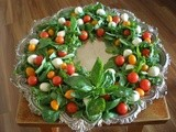 Festive Feastings with a Christmas Caprese Salad