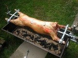 Spit Roasted Lamb