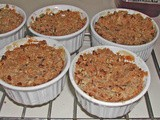 Apple Crisp with Pecans and Orange