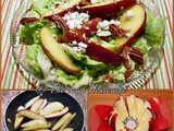 Apples and Roquefort Salad