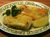 Baked Cod in a Cornmeal Crust
