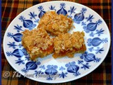 Baking with Oatmeal...Peachy Oatmeal Bars