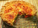 Blue Ribbon Tomato Quiche