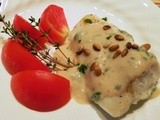 Broiled Cod with Herb Sauce