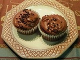 Chocolate Cupcakes for a Compact Food Processor
