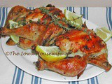 Cornish Hens with Lemon and Thyme