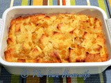 Creamed Corn Bread Pudding