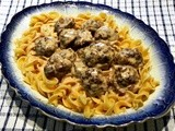 Creamed Swedish Meatballs