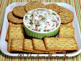 Dried Beef Pickle Dip