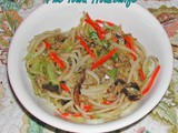 Egg Roll Rice Noodle Bowl