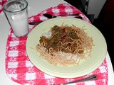Family Favorites - Beef Chow Mein