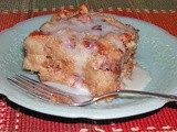 Family Favorites...Bread Pudding with Rum Sauce