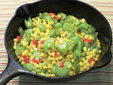Family Favorites...Celery and Corn Sauté