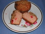 Family Favorites....Cherry-Streusel Muffins