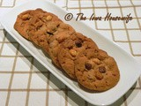 Family Favorites...Chewy Peanut Butter Chocolate Chip Cookies