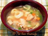 Family Favorites...Chicken Tortellini Soup