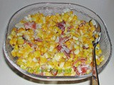 Family Favorites...Creamed Corn with Bacon