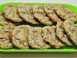 Family Favorites...Crisp Oat Pecan Cookies