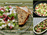 Family Favorites...Ham and Hominy Salad