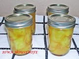 Family Favorites..Home Canned Pineapple