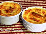 Family Favorites...Individual Country Grits and Sausage Casseroles