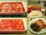 Family Favorites..,Lazy Day Lasagna