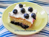 Family Favorites...Lemon Blueberry Cake