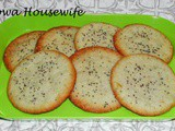Family Favorites...Lemon Poppy Seed Cookies