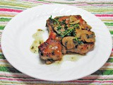 Family Favorites...Pork Chops Marsala