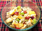 Family Favorites...Roasted Chicken Salad with Pears and Grapes