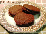 Family Favorites...Slice and Bake Chocolate Wafer Cookies