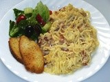 Family Favorites - Spaghetti Alla Carbonara