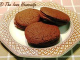 Freezer Slice and Bake Chocolate Wafer Cookies