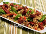 From the Garden...Barley and Vegetable Pilaf