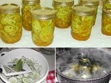 From the Garden...Bread and Butter Pickles