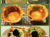 From the Garden...Cheesy Vegetable Tarts