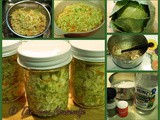 From the Garden...Cole Slaw to Freeze