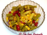 From the Garden...Cornhusker Bean/Corn Salad